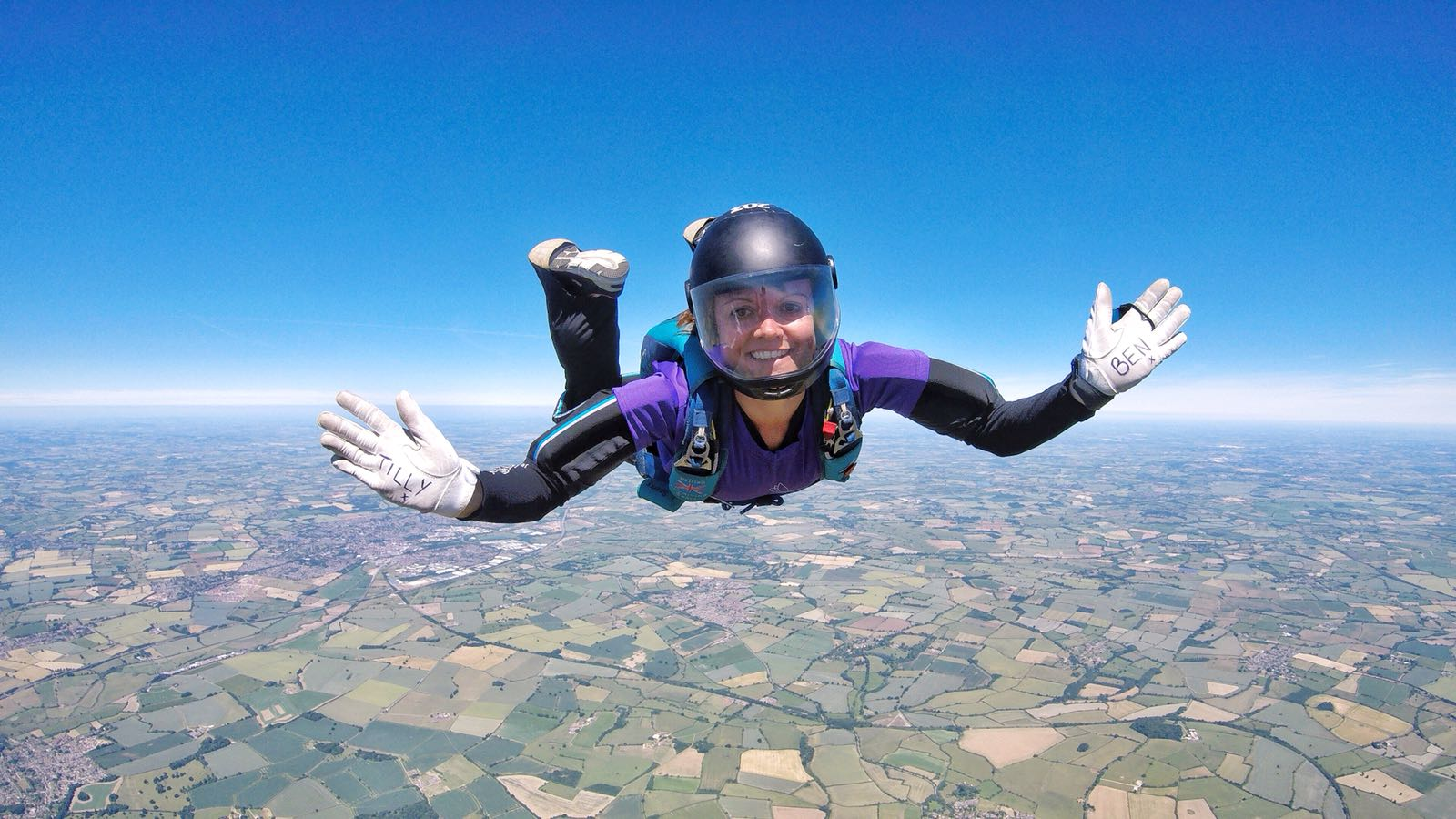 Tandem Skydiving, Parachute Jumping for Charity UK!
